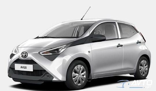 ToyotaAygo1.0 VVT-i x 5 VRAT