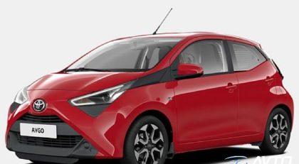 ToyotaAygo1.0 VVT-i x-play 5 VRAT + 10 LET JAMSTVA