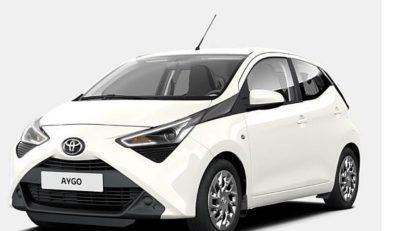 ToyotaAygo1.0 VVT-i X-PLAY 5 vrat+10 LET JAMSTVA