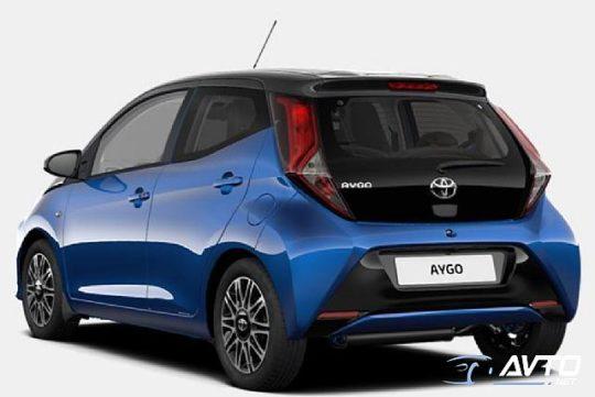 ToyotaAygo1.0 VVT-i X-CLUSIV Bi TONE
